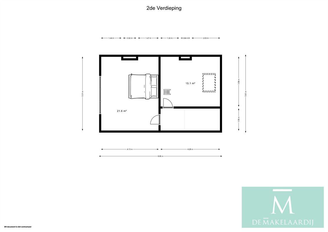 Foto 37 : Huis te 2800 MECHELEN (België) - Prijs € 420.000