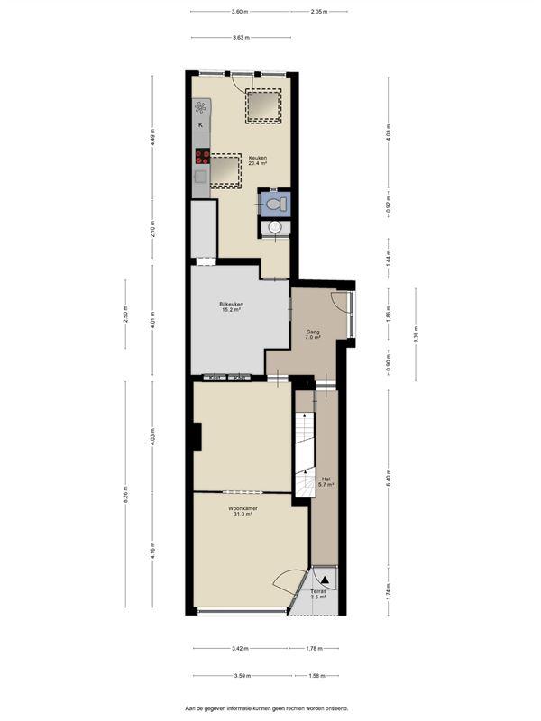 Foto 21 : charmant huis te 2170 MERKSEM (België) - Prijs € 325.000