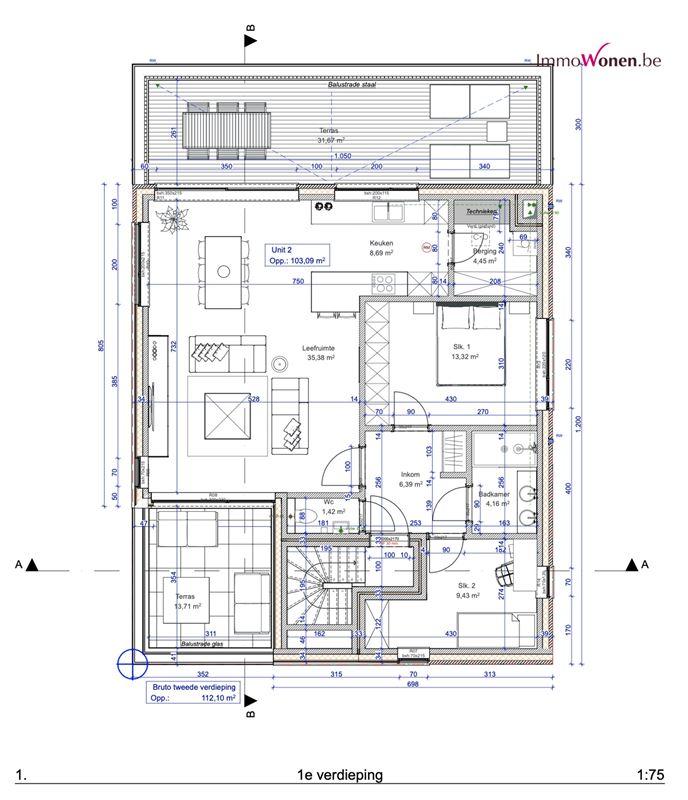 Foto 13 : Appartement te 3071 ERPS-KWERPS (België) - Prijs Prijs op aanvraag