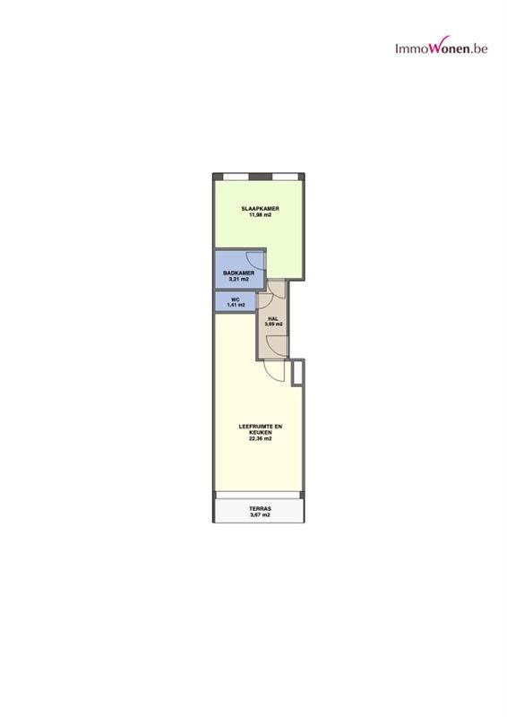 Foto 8 : Appartement te 3052 BLANDEN (België) - Prijs € 194.900