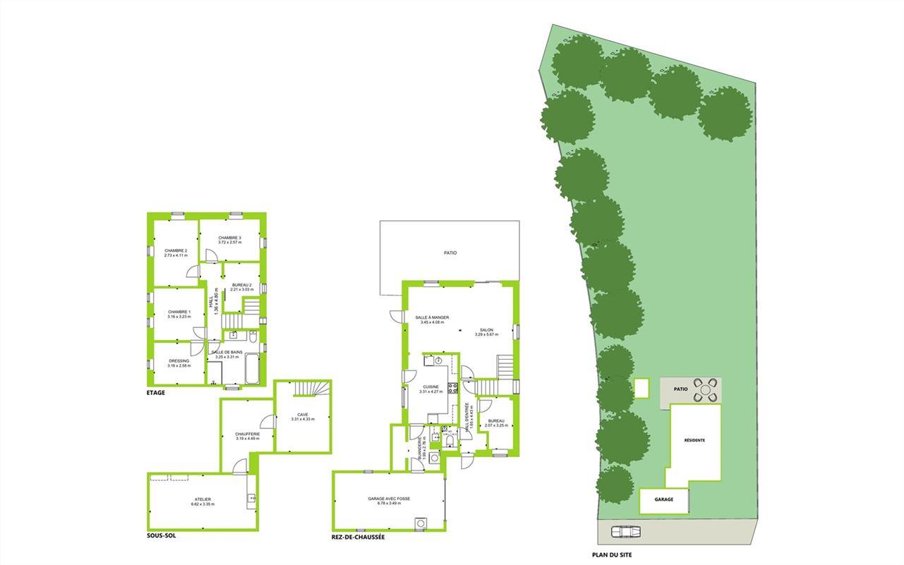 Image 17 : Villa à 4650 CHAINEUX (Belgique) - Prix 350.000 €