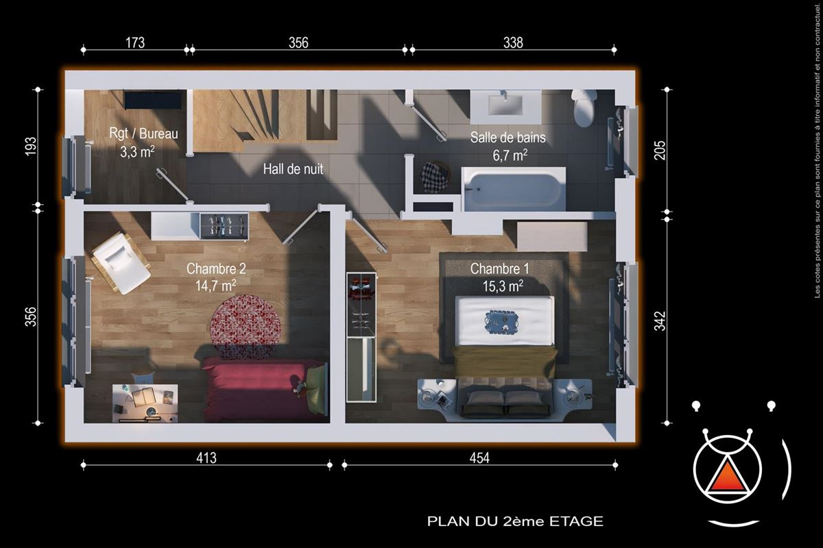 *OPTION* Belle maison 3 chambres avec jardin à la Chatqueue