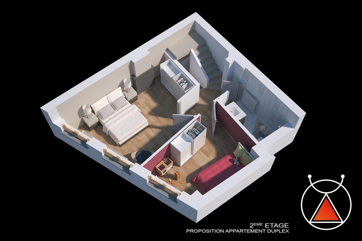 ***OPTION*** Superbe immeuble mixte de caractère situé au cœur de Liège