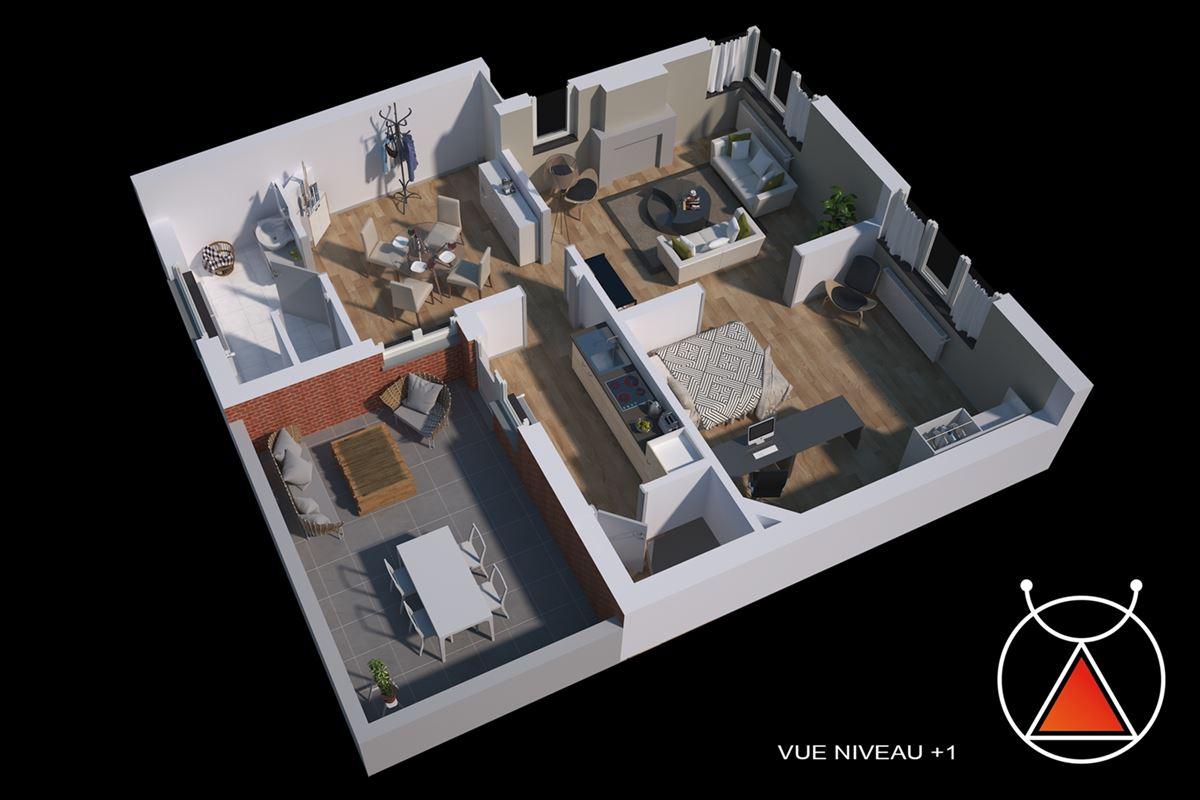 Maison avec garage et terrasse à Bellaire