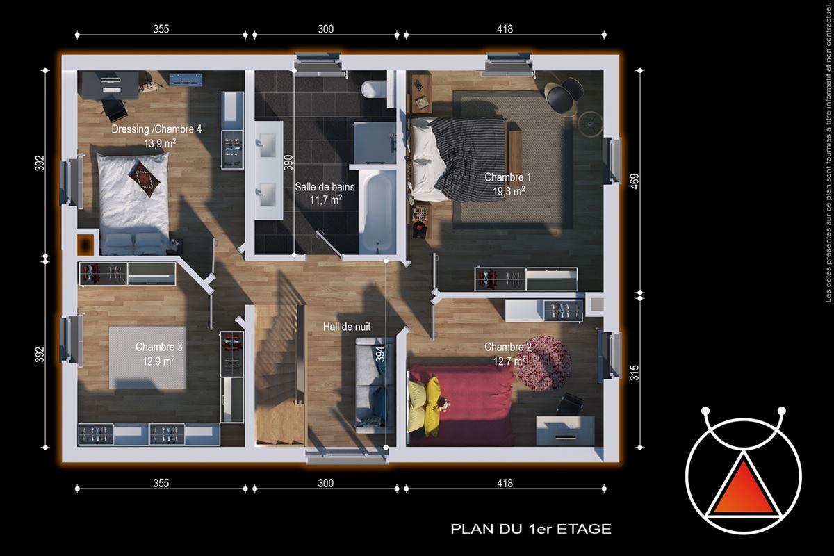 *OPTION*Superbe villa 4 façades