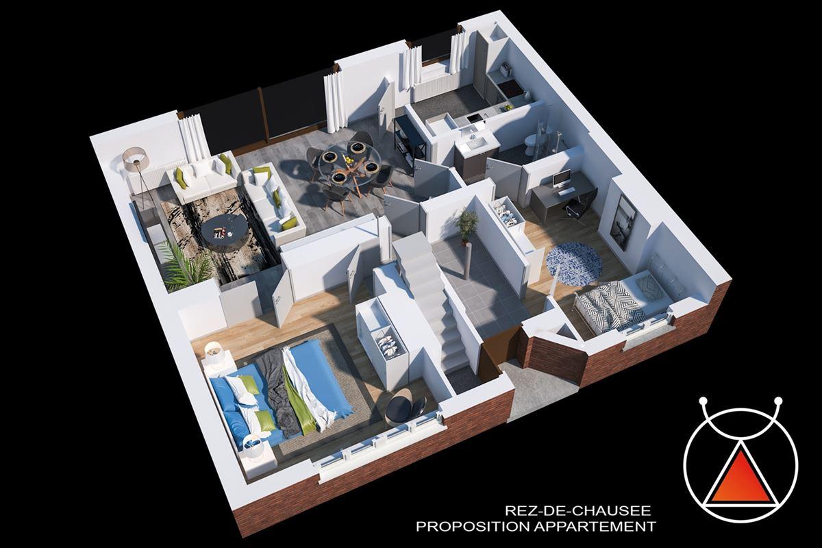 Immeuble idéal pour exercer une profession libérale et logement