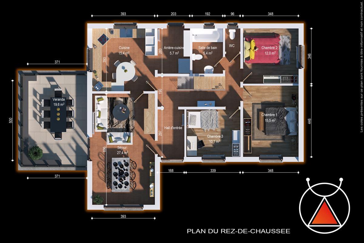 Spacieuse maison 4 chambres située à Nassogne
