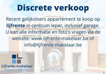 appartement te 8900 IEPER (België) - Prijs €275.000