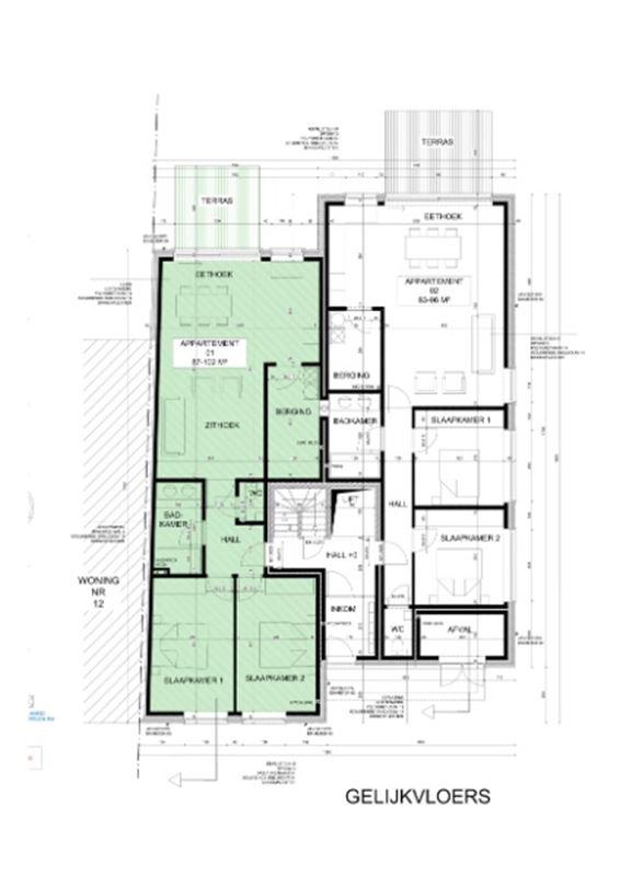 Foto 2 : Appartement te 9400 NINOVE (België) - Prijs € 255.000