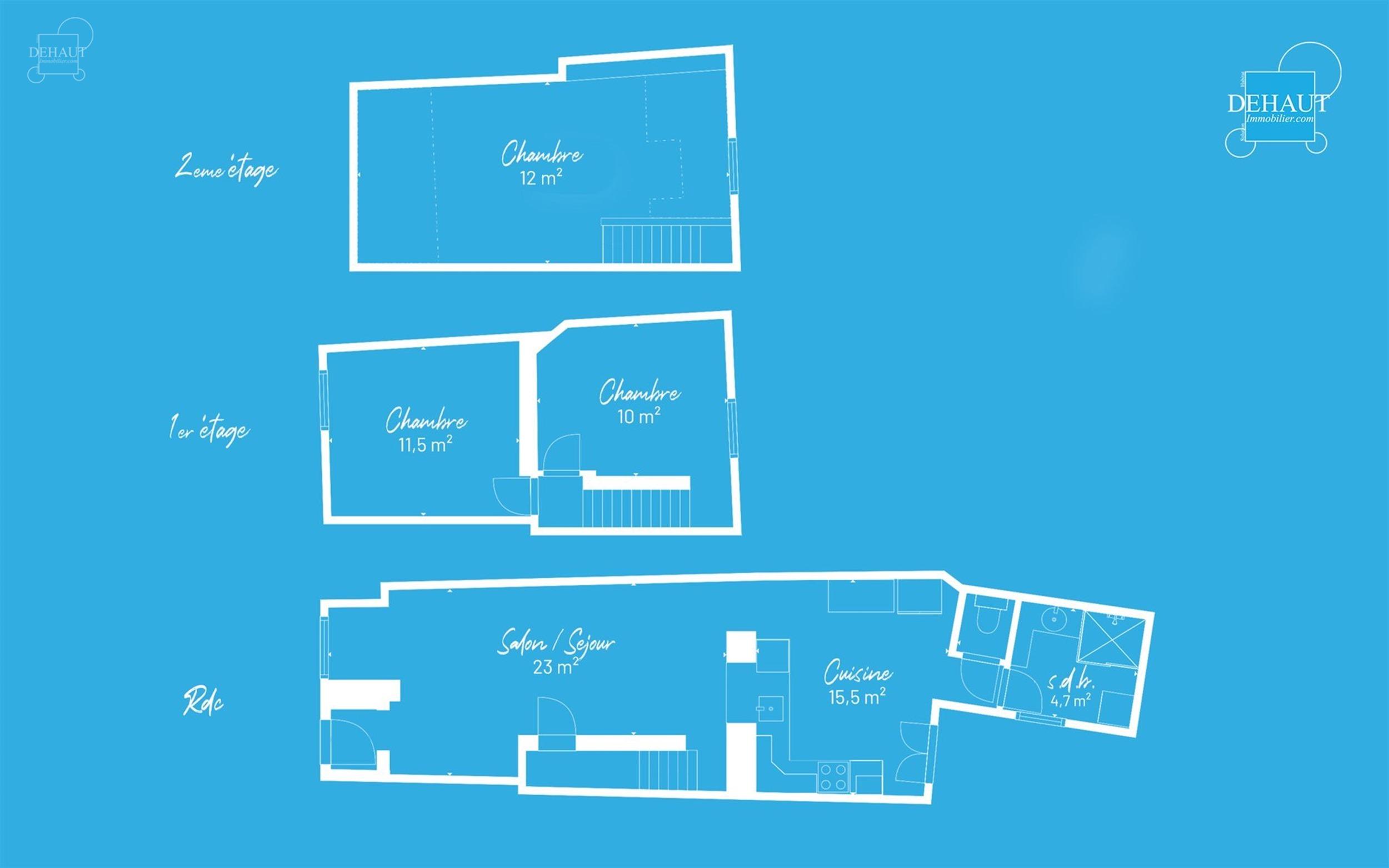 Jolie maison de ville rénovée à proximité du centre-ville, des écoles et de toutes commodités. Comprend un sas d'entrée, salon/séjour, cuisine...