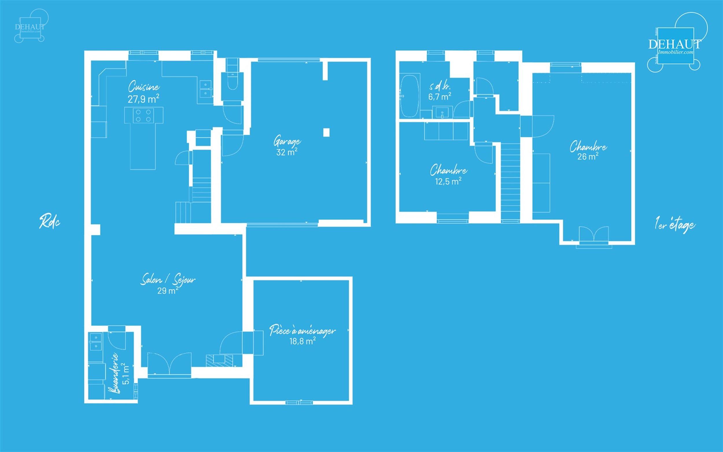 Superbe maison rénovée proposant un magnifique espace de vie comprenant salon, salle à manger ouverte sur une grande cuisine équipée avec ilot ce...