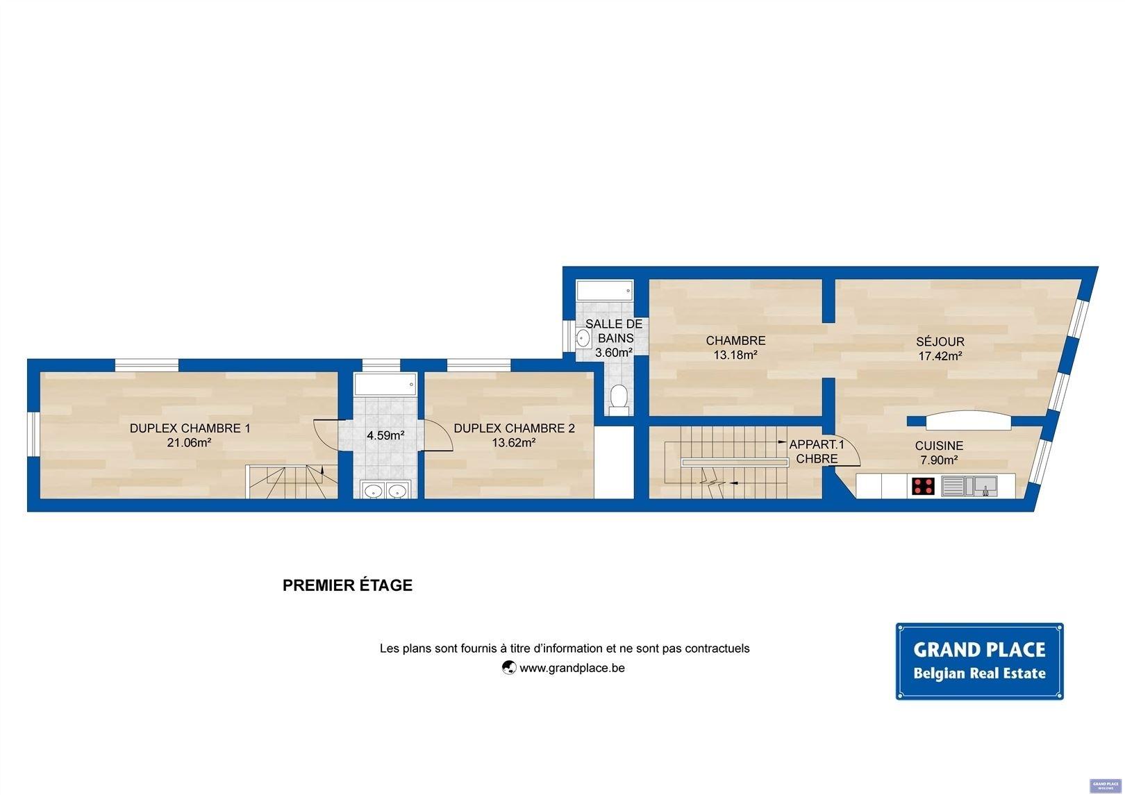 Image 5 : Maison à 1150 WOLUWE-SAINT-PIERRE (Belgique) - Prix 550.000 €