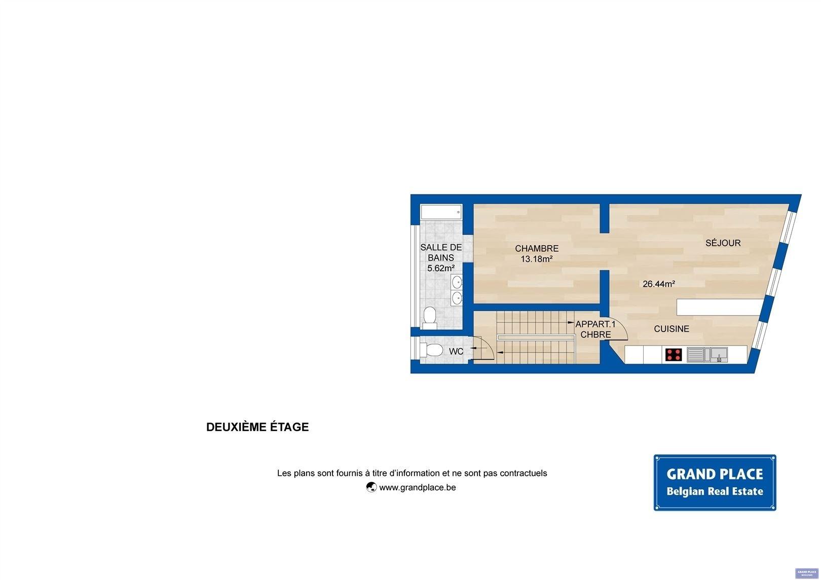 Image 6 : Maison à 1150 WOLUWE-SAINT-PIERRE (Belgique) - Prix 550.000 €