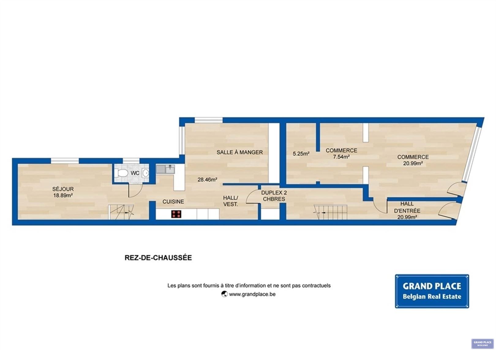 Image 4 : Maison à 1150 WOLUWE-SAINT-PIERRE (Belgique) - Prix 550.000 €