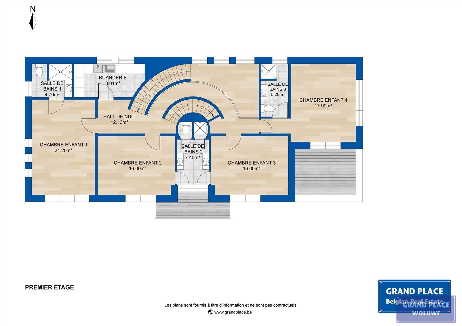 Image 14 : Villa contemporaine à 1150 WOLUWÉ-SAINT-PIERRE (Belgique) - Prix 1.875.000 €