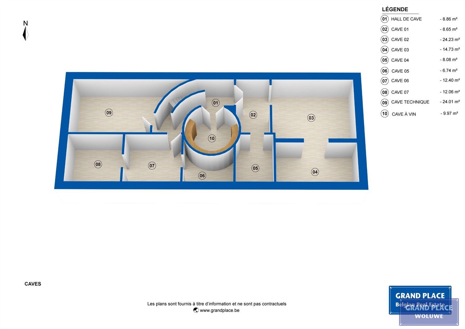 Image 32 : Villa contemporaine à 1150 WOLUWÉ-SAINT-PIERRE (Belgique) - Prix 1.875.000 €