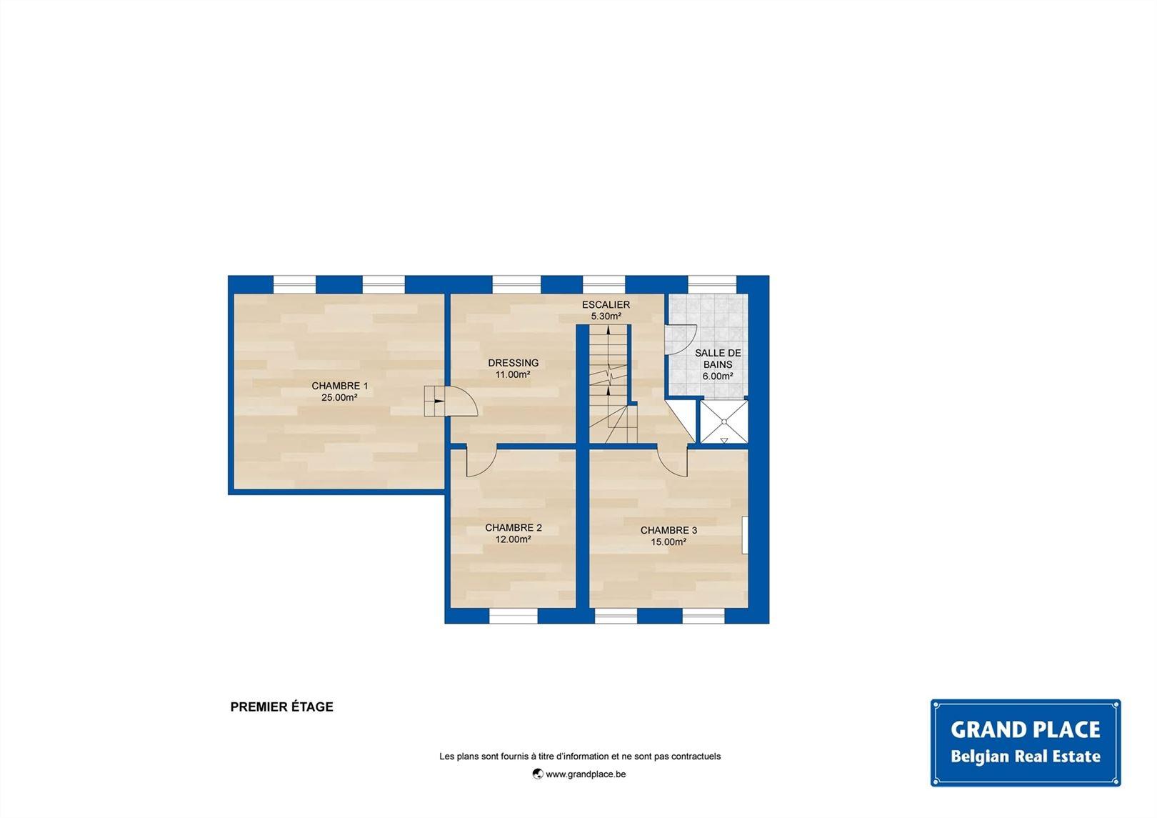 Image 17 : Maison 3 façades à 1360 PERWEZ (Belgique) - Prix 449.000 €
