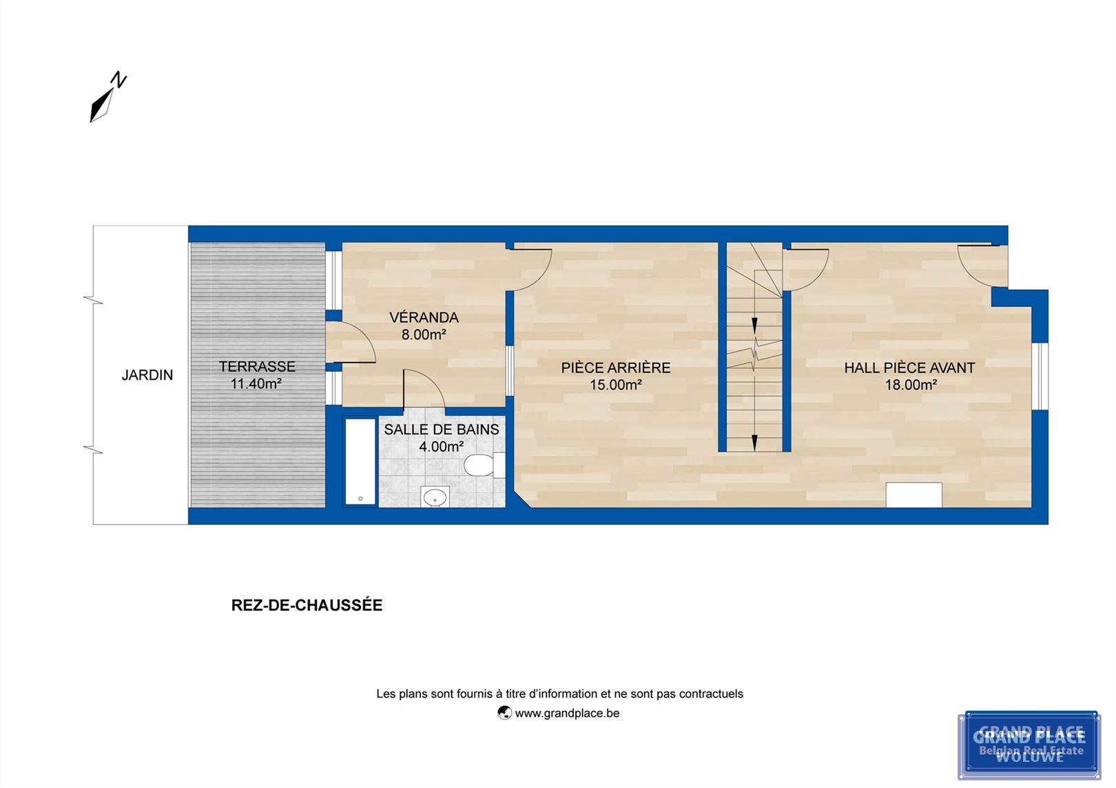 Image 6 : Maison à 1150 WOLUWÉ-SAINT-PIERRE (Belgique) - Prix 390.000 €