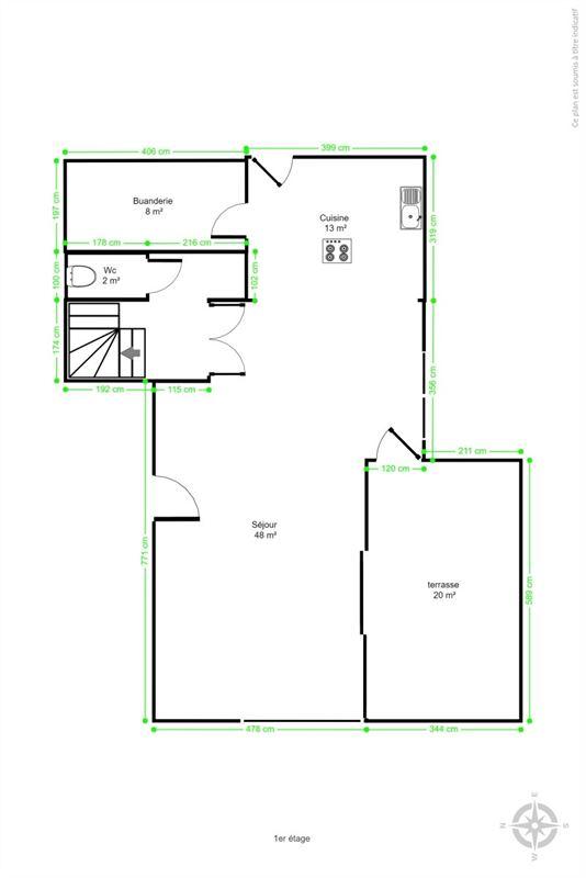 Image 41 : Appartement à 4053 EMBOURG (Belgique) - Prix