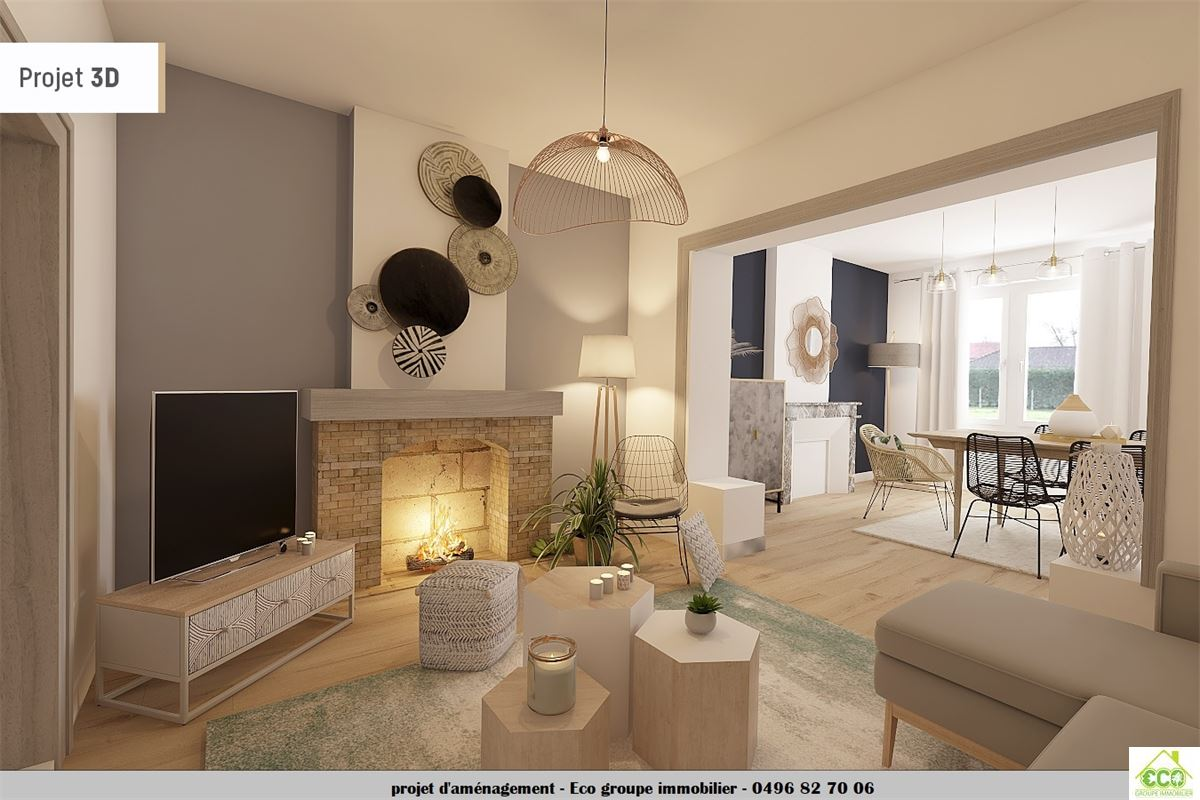 Image 8 : Maison villageoise à 4280 Villers-le-Peuplier (Belgique) - Prix 160.000 €