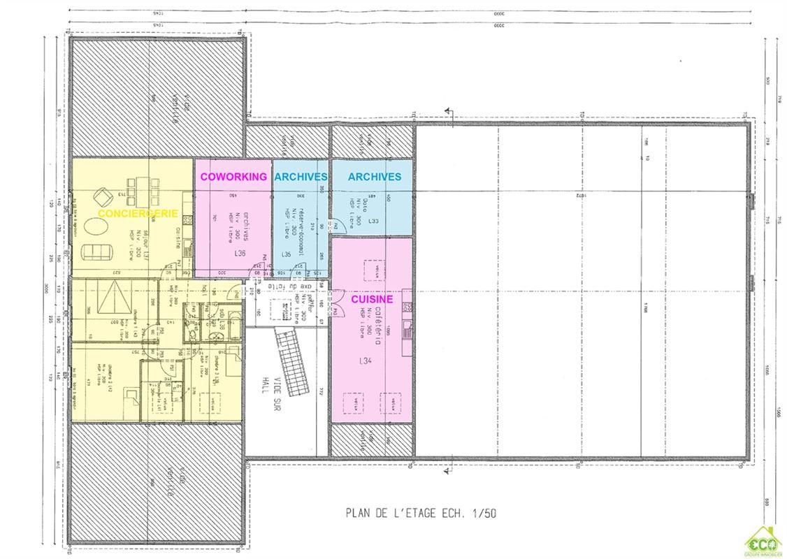 Image 14 : Immeuble de bureaux à 4300 WAREMME (Belgique) - Prix 695 €