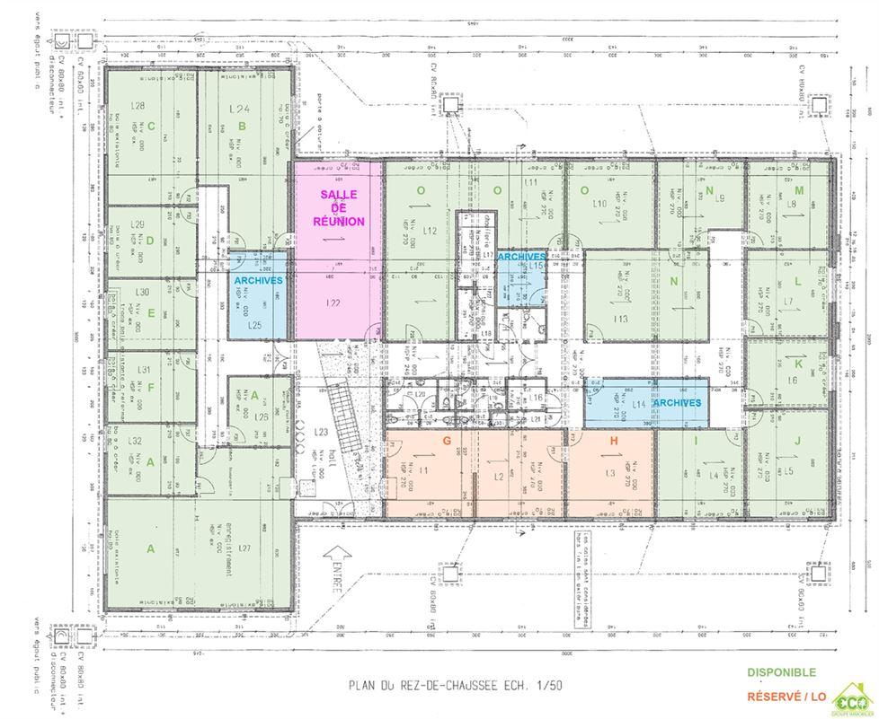 Image 13 : Immeuble de bureaux à 4280 Hannut (Belgique) - Prix 480 €