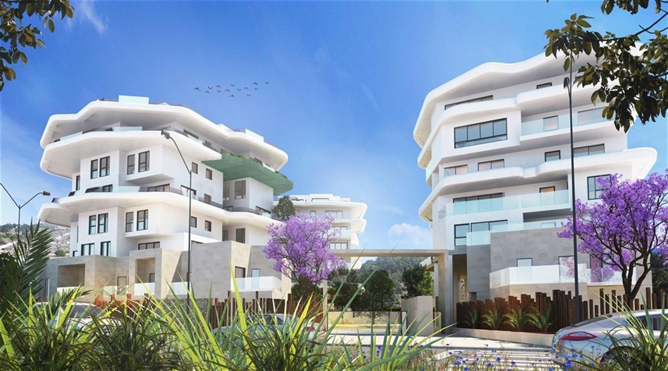 Foto 2 : nieuwbouw appartement te 03570 VILAJOYOSA (Spanje) - Prijs € 250.500