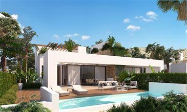 nieuwbouw woning te 03679 MONFORTE DEL CID (Spanje) - Prijs € 250.600