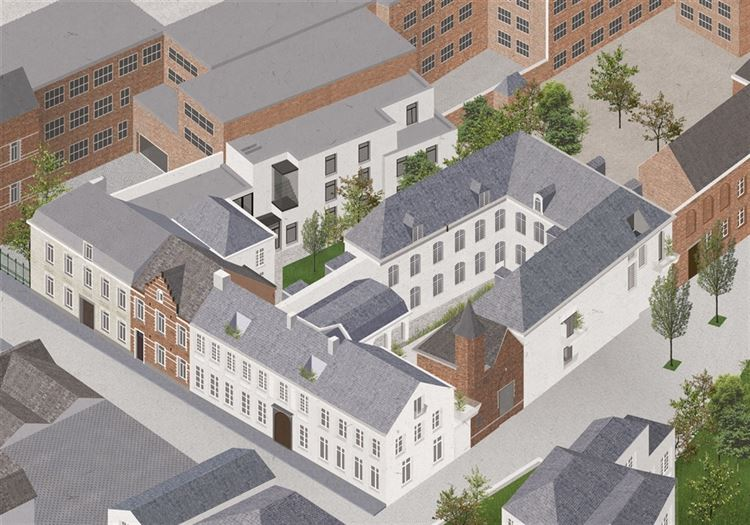 Real estate project : CADIX IN MECHELEN (2800) - Price