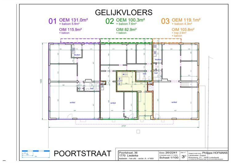Image 5 : rez commercial à 1770 LIEDEKERKE (Belgique) - Prix 165.000 €