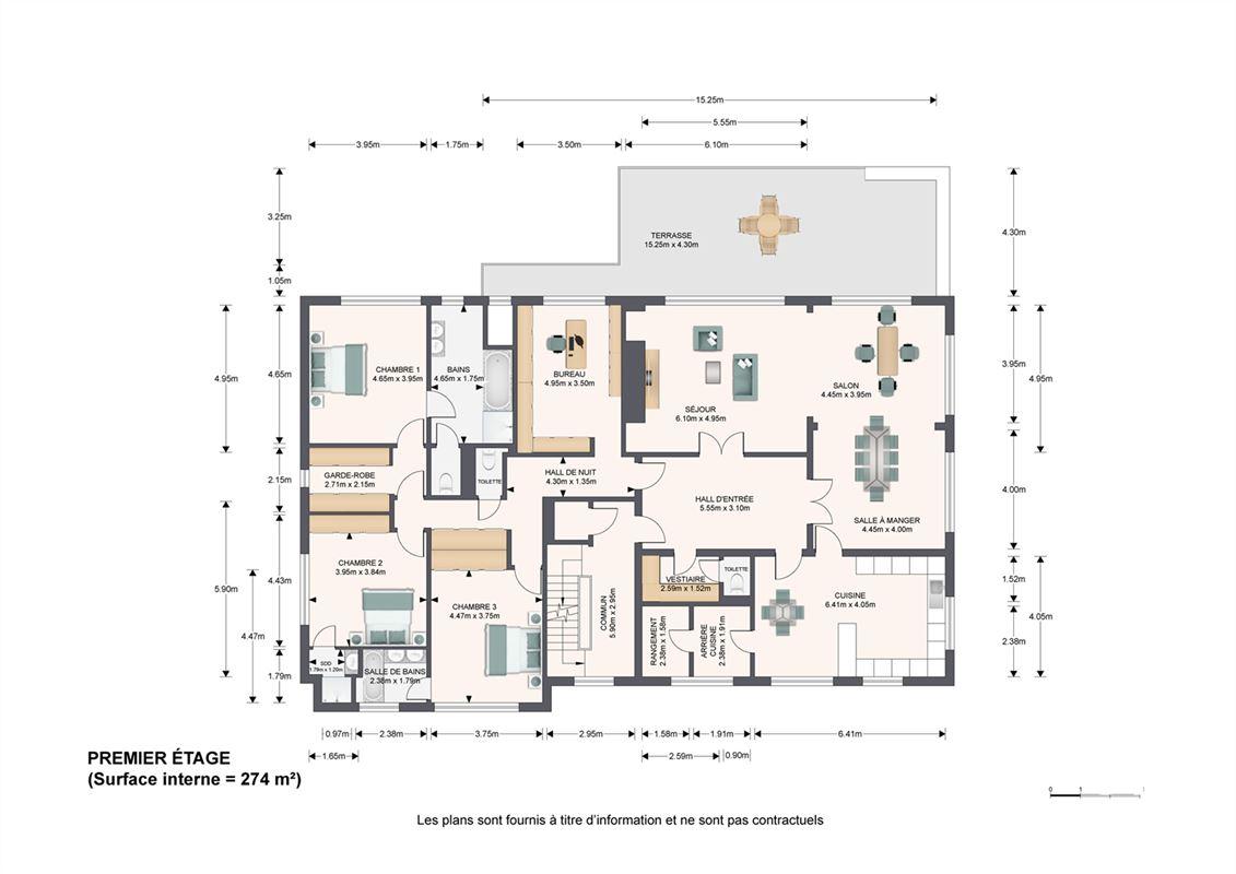 Image 4 : Immeuble à appartements à 1150 WOLUWE-SAINT-PIERRE (Belgique) - Prix 3.100.000 €