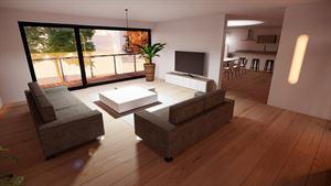 Image 1 : Projet immobilier Rue de Menin à MOUSCRON (7700) - Prix de 199.000 € à 249.000 €