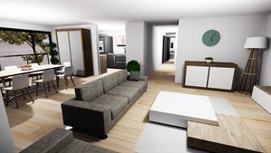 Image 3 : Projet immobilier Rue de Menin à MOUSCRON (7700) - Prix de 199.000 € à 249.000 €