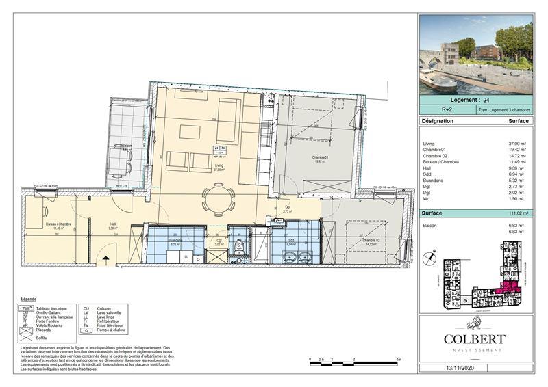 Image 3 : Appartement à 7500 TOURNAI (Belgique) - Prix 306.300 €