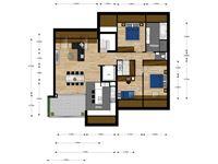 Foto 7 : Appartement te 3740 MUNSTERBILZEN (België) - Prijs € 265.915