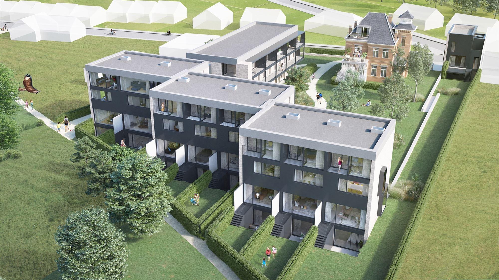 Villa Santa Maria en Vallei Houtkauter, samen Tweestroom! Twee unieke en veelzijdige nieuwbouwprojecten in Liedekerke aan de Dender en op een boogsche...
