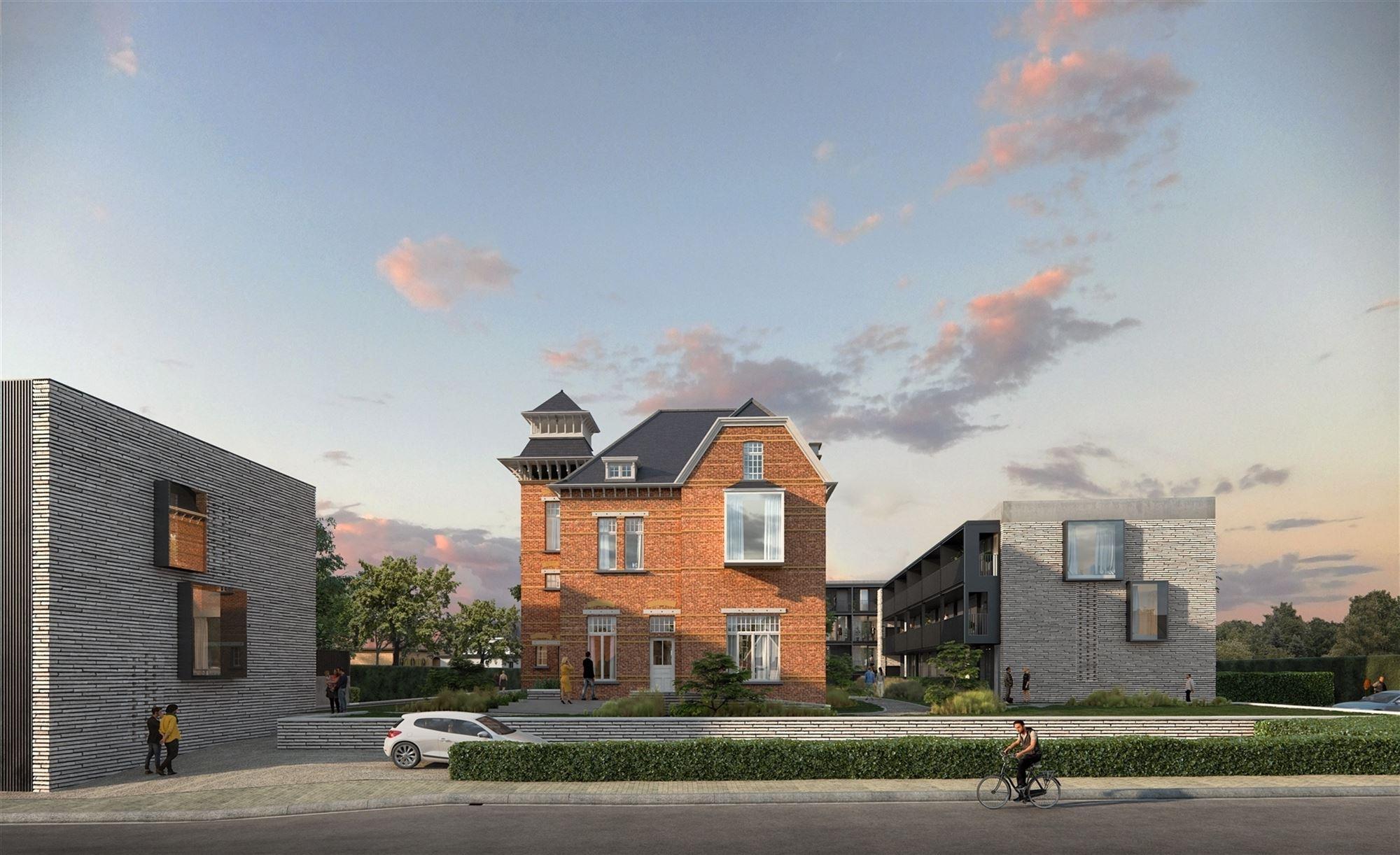 Links van de gekende 'Villa Santa Maria' zal deze prachtige bel-etagewoning in de loop van 2022 worden aangebouwd. Ze beschikt over een terras en priv...