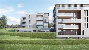Maak kennis met Vallei Houtkauter, een complex van drie gebouwen gelegen aan een groene vallei met zicht op het water.  De ruime appartementen en du...