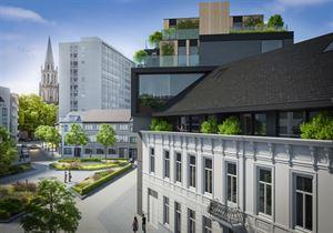 Den Botanikken Hof biedt een gevarieerd woonaanbod pal in het centrum van Aalst. Den Botannik is het nieuwbouwvolume. De strakke architectuur in donke...