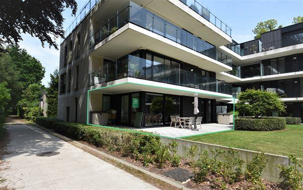 Lichtrijk appartement te huur in Kloosterpark De Capucien. In dit gelijkvloers appartement is het prachtig wonen te midden van een groene parkomgeving...
